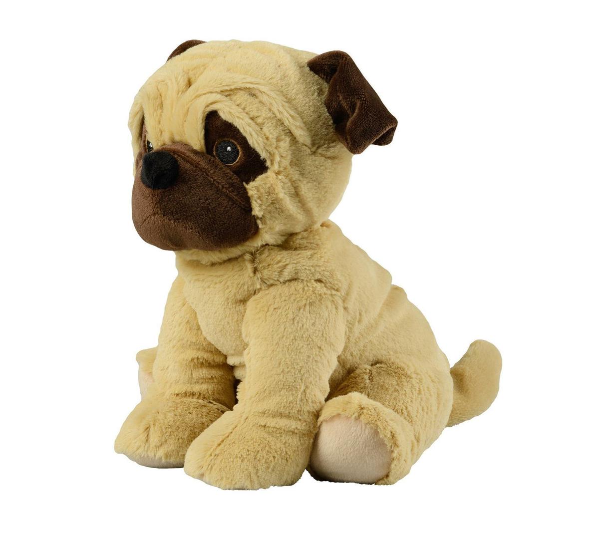 - Warmies : Hund Mops  Beige  -