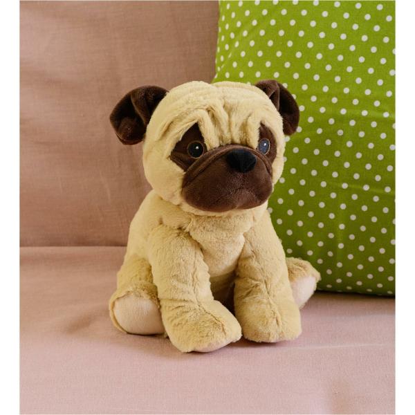 Warmies : Hund Mops  Beige