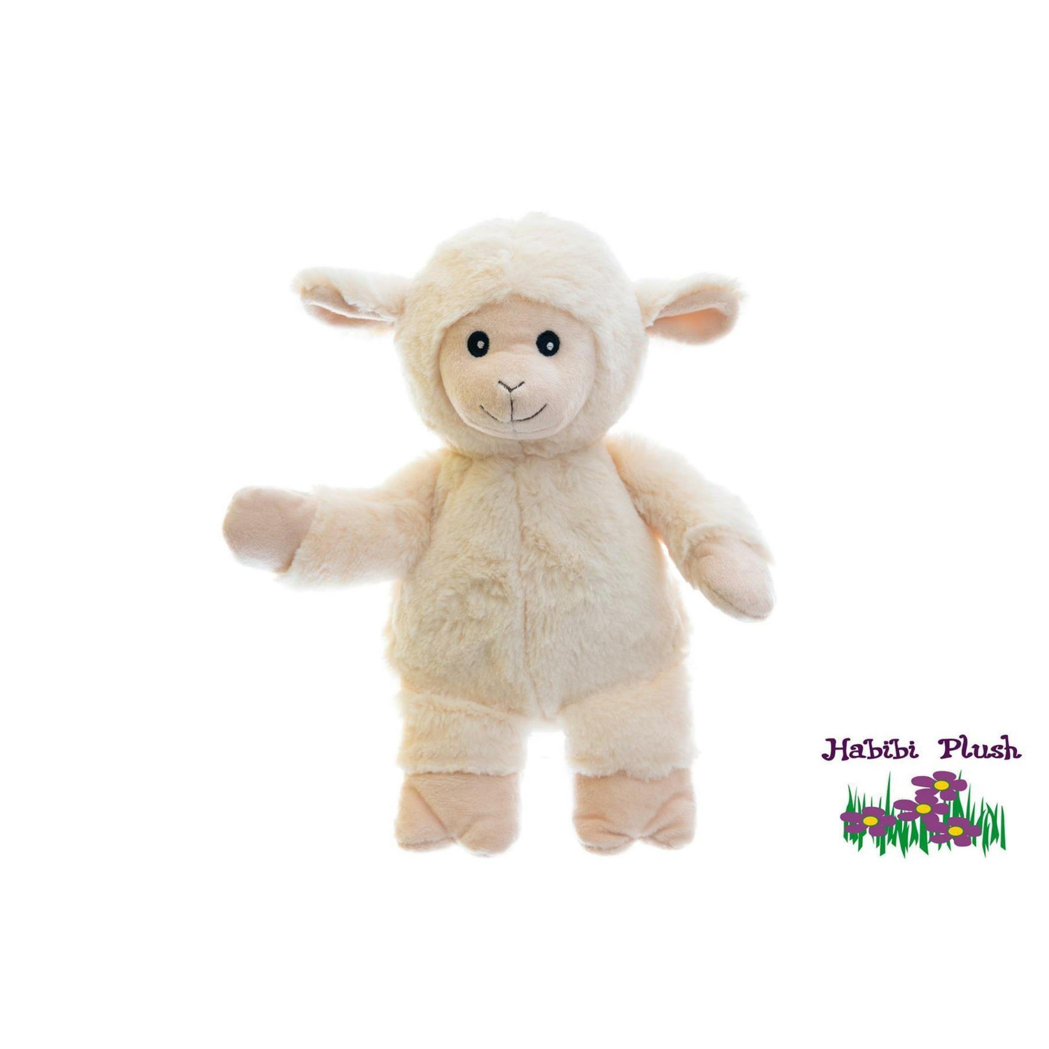 - Habibi Plush : Habibi Schaf Sitzend mit Klettverschluss   -