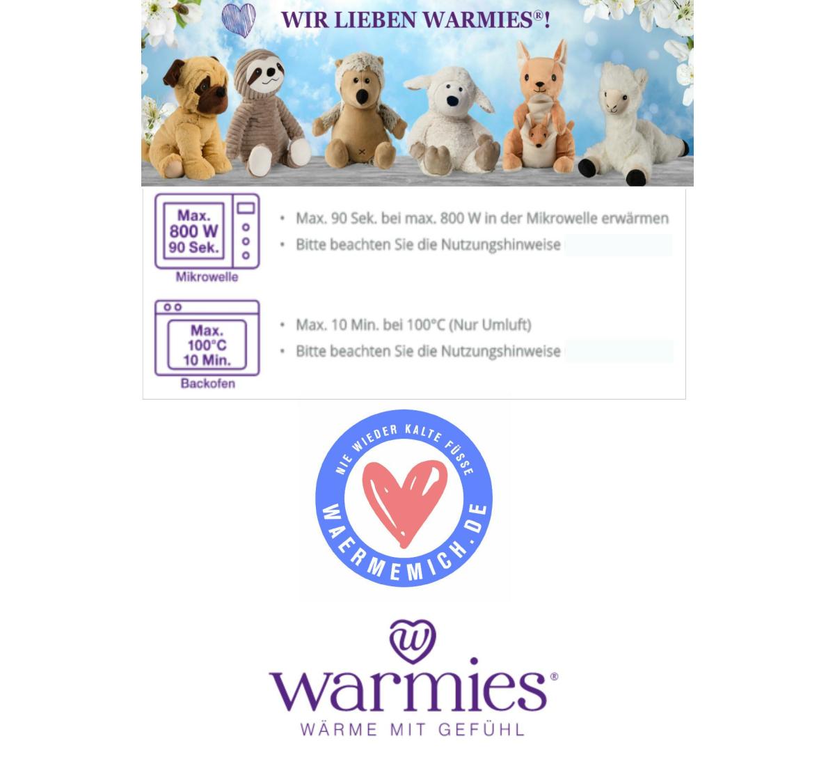 - Warmies : MINIS SCHAF beige  -