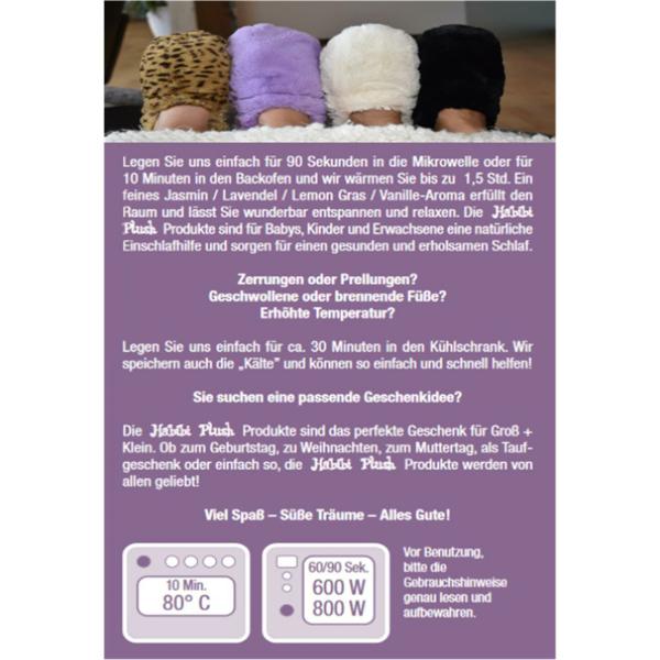 Habibi Plush : Einhorn versch.Farben mit Klettverschluss
