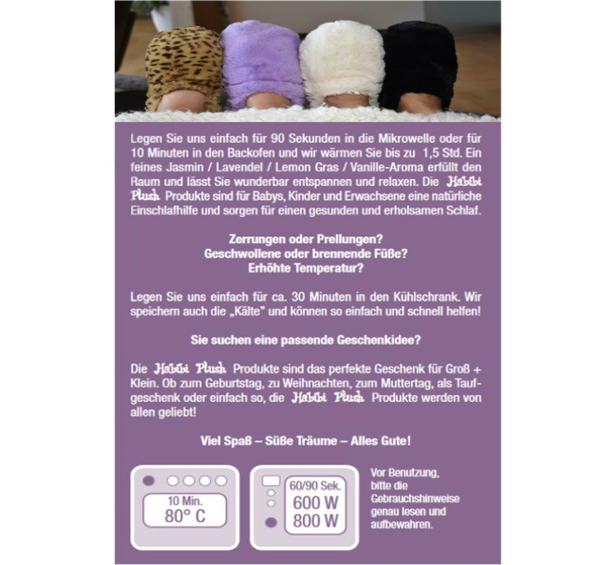 Habibi Plush : Faultier mit Klettverschluss
