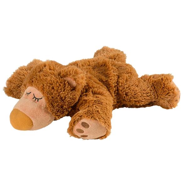 - Warmies : -Sleepy Bear Braun mit herausnehmbarer Füllung