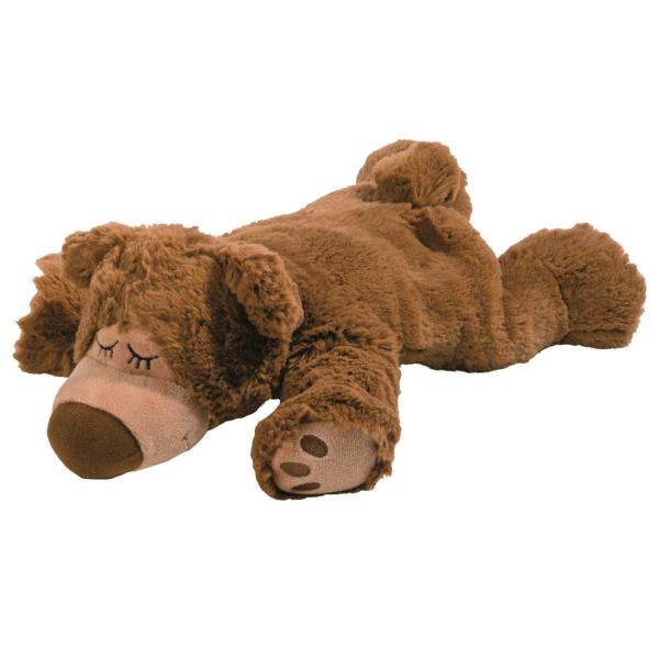 - Warmies : Sleepy Bear Braun ohne herausnehmbarer Füllung