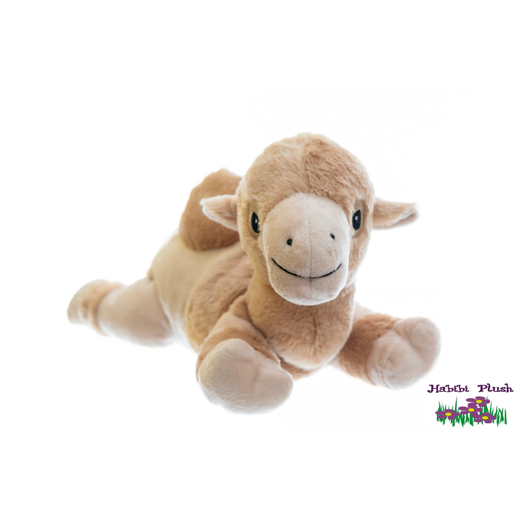 Habibi Plush : Baby Kamel mit Klettverschluss