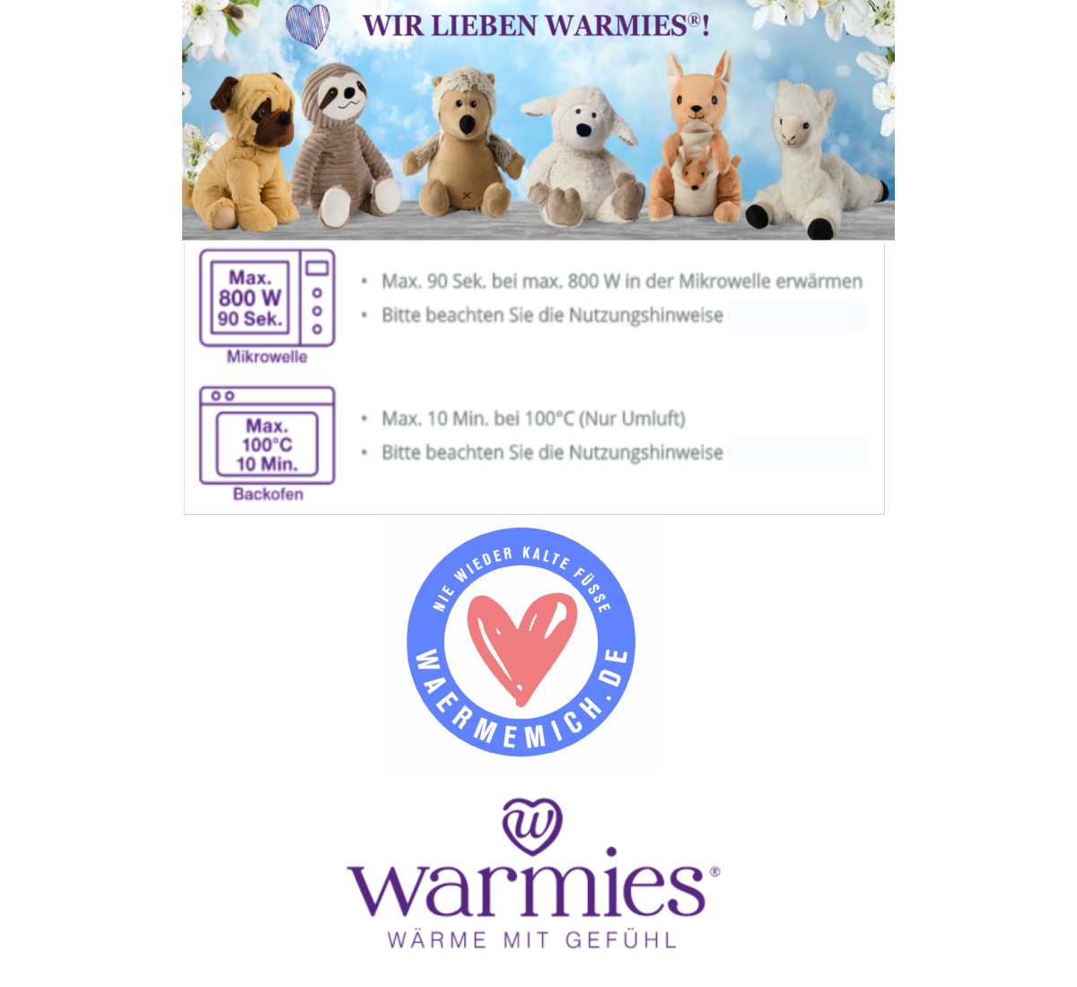 Warmies :MINIS Ferkel
