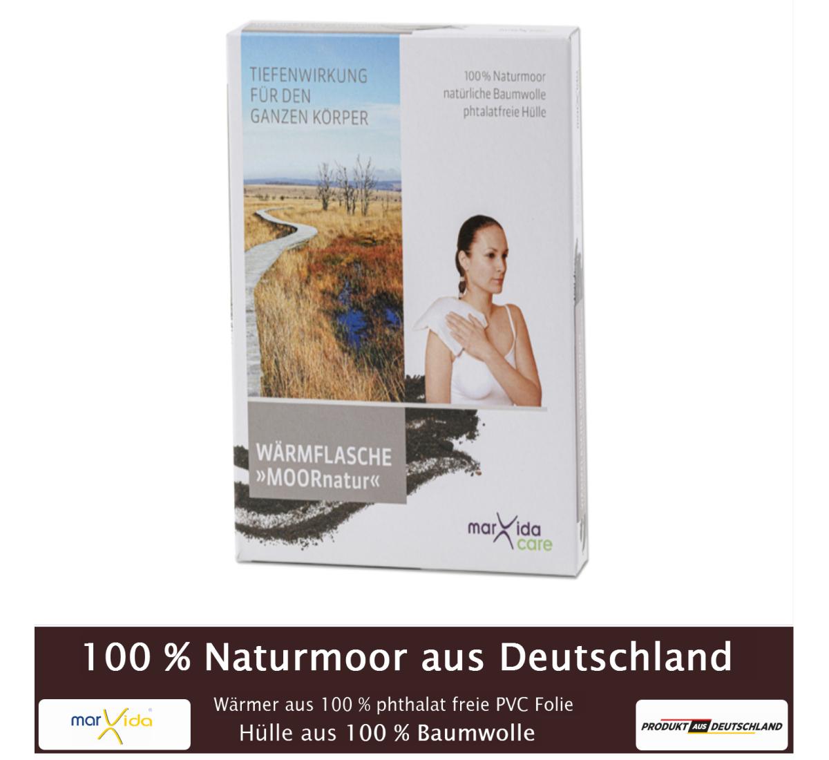 marvida care: Wärmflasche »MOORnatur«
