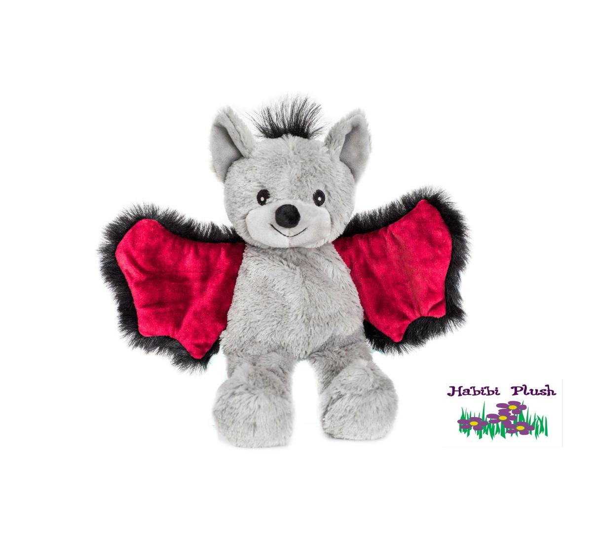 Habibi Plush : Fledermaus Bat Junior mit Klettverschluss